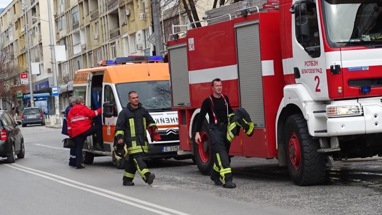 Пожар избухна в заведение на главната улица в Пловдив, съобщават