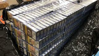 В София задържаха пратка с над 80 000 цигари за Великобритания