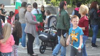 150 души протестираха в Раднево, обстановката се успокоява