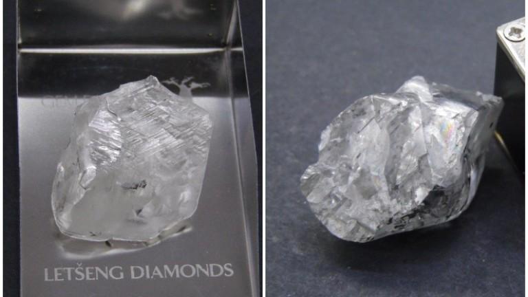 Два огромни диаманта над 100 карата са били открити в