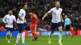 Англия помете Черна Гора със седем гола