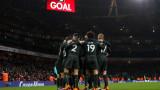 Манчестър Сити разби Арсенал с 3:0 като гост