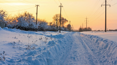Снегът остави 25 села без ток в Хасковско