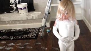 10 снимки, които показват какво се случва, когато при детето е тихо (СНИМКИ)