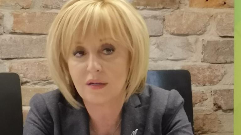 Мая Манолова: Обединението ще демонтира Борисов от власт