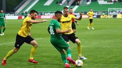 Лудогорец - Ботев (Пловдив) 2:1, гол на Жоржиньо