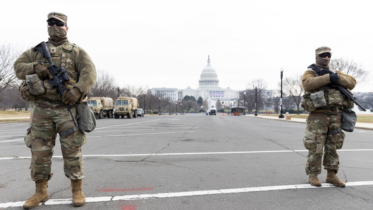 7000 военни вече охраняват US Конгреса