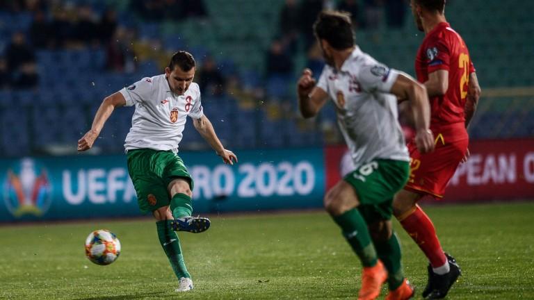 Станислав Костов бе фаулиран в срещата на България с Черна