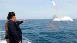 САЩ: Пхенян излъга, че е изстрелял подводна балистична ракета