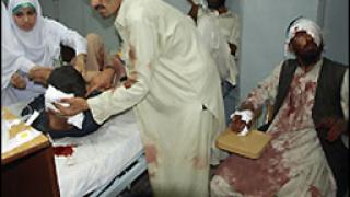 Над 40 загинали при атентат в Източен Пакистан