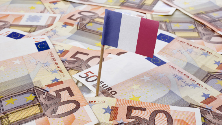 Франция с невиждано от над 70 години висок държавен дълг