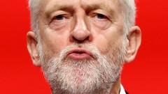 Мей тласка Великобритания към ръба на скалата, предупреди Корбин