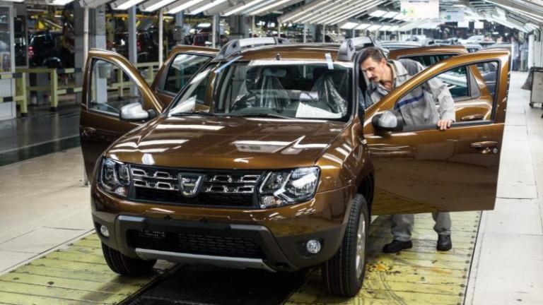 Автомобилният производител Dacia ще инвестира 100 милиона евро в разширяването
