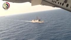 Откриха части от падналия египетски самолет