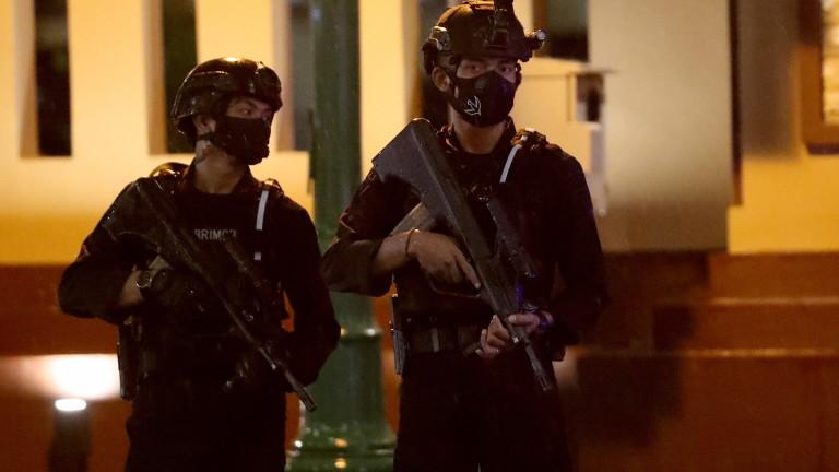 Индонезийската полиция застреля терорист от групировката