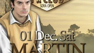 Мартин Гарсия ще гостува в София тази събота