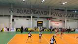 Волейболистките на Славия победиха лесно тези на Перун