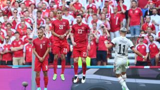 Дания вече има цели 15 загуби на европейски първенства