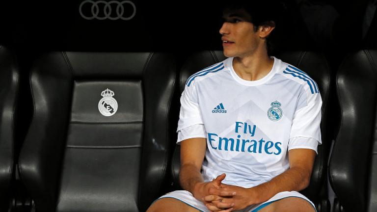 Младият защитник на Реал (Мадрид) - Хесус Вайехо по всяка
