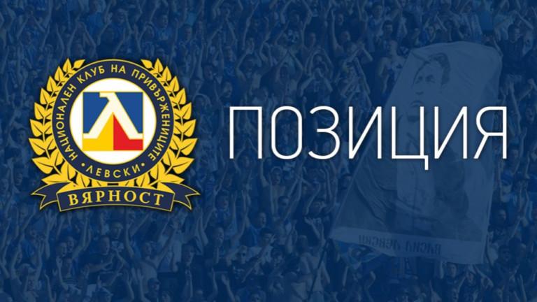 """НКП на Левски с позиция: Охраната - """"основният"""" проблем!"""