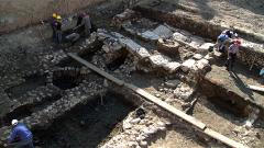 Крайно лошо е състоянието на една от кулите на крепостта Сердика