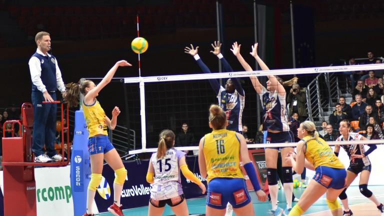 Победата на Динамо (Москва) в Екатеринбург срещу местния Уралочка-НТМК (Екатеринбург)