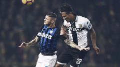 """Интер посече Парма на """"Енио Тардини"""", затвърди третото място в Серия """"А"""""""