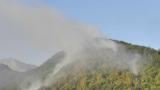 Четвърти ден гасят пожара в Рила