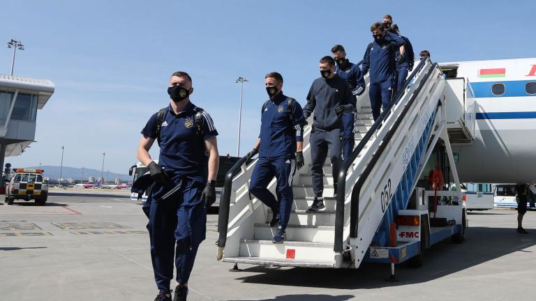 Съперникът на ЦСКА в Лига Европа вече е на българска земя
