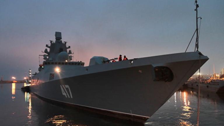 Руският флот през юли ще получи първата серийна фрегата от