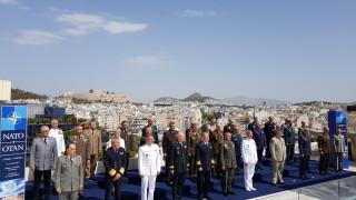Адмирал Ефтимов в НАТО: Сигурността е определяща за Балканите