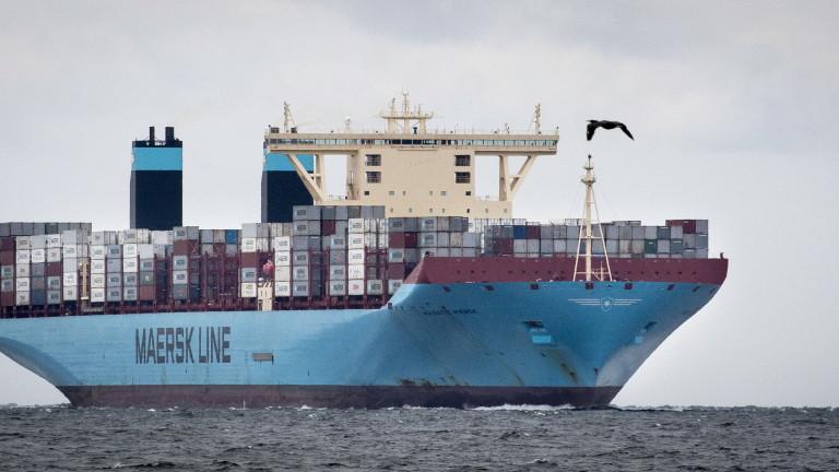Най-голямата морска логистична компания в света ще развива жп товарни превози у нас