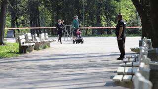 4 акта за неносене на маска в парковете в София още първия ден
