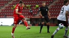 Унион и Айнтрахт си вкараха общо шест гола