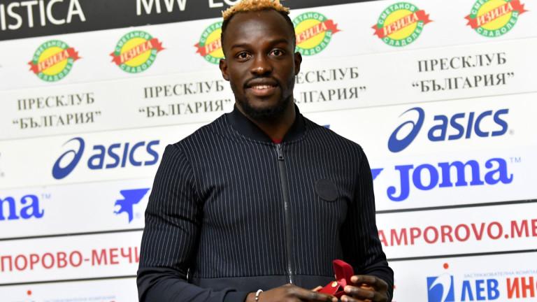 Али Соу: Ще опитаме ЦСКА да бие наред до края на сезона