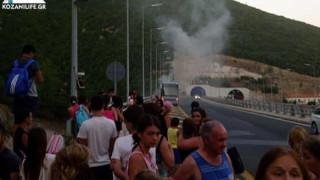 В Гърция горя автобус с деца