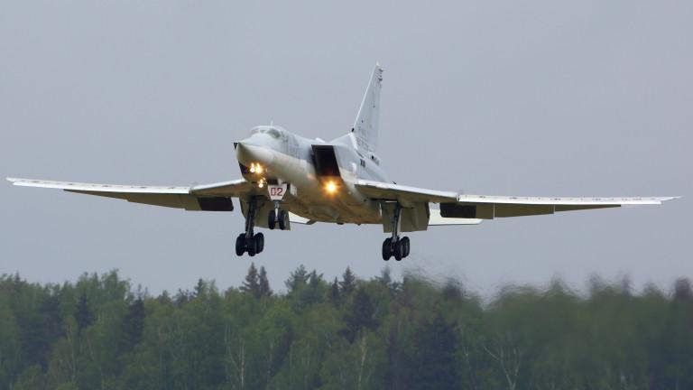 Руски бомбардировач Ту-22 кацна аварийно след отказ на двигател
