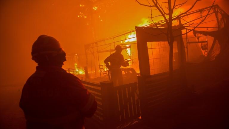 8 загинали при пожар в Португалия