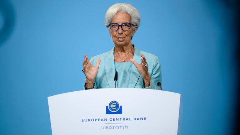 ЕЦБ: Пандемията ще се отрази на динамиката на инфлацията следващите години