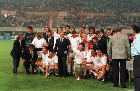 """Сезон 1989/90: Историята се повтаря - Милан отново бие """"прокълнатите"""" от Гутман"""