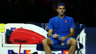 Лошо начало за Федерер в Лондон