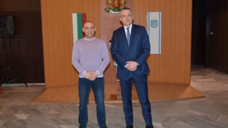 ВОбщина Варна се състоя работна среща между кмета на града