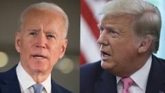Тръмп: Като вицепрезидент Байдън се провали с по-малко заразния свински грип