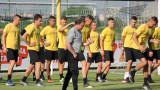 Желко Петрович определи група от 18 футболисти за предстоящото дерби с Левски