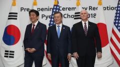 Абе призова президента на КНДР да се откажат от ракетно-ядрената си програма