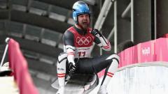 Давид Глайршер се оказа с най-бързата шейничка в ПьонгЧанг