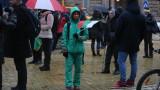 164-ят протест поиска оставката на Каракачанов за Ф-16