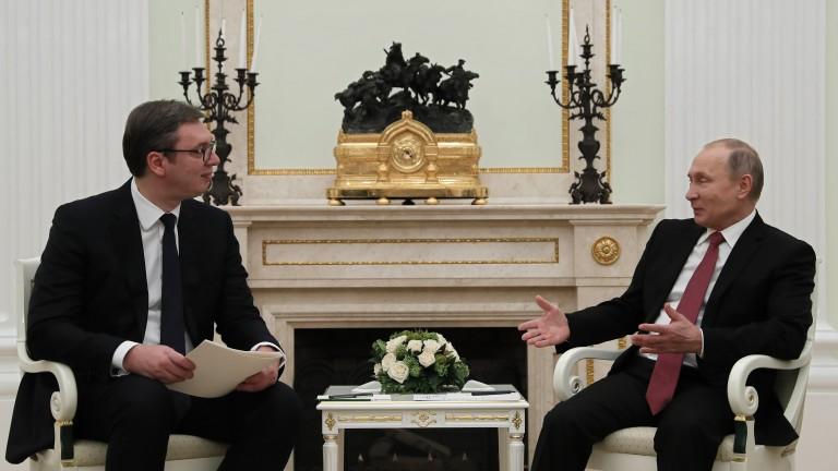 В Сърбия кръщават църква на Путин