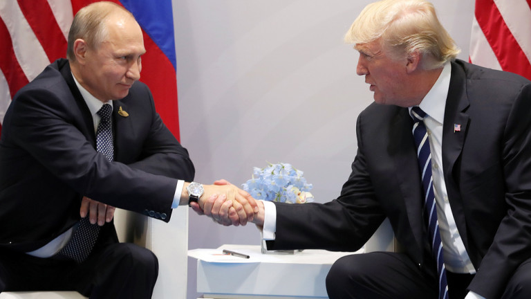 Тръмп криел подробности от разговорите с Путин