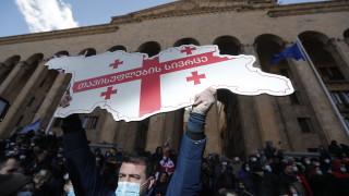 Протестите в Грузия се разрастват